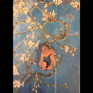 Jewelry - Rose Gold Quartz Necklace